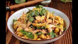 香辣手撕鸡-这样做简单好吃的手撕鸡-家庭厨房菜谱
