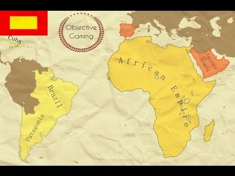 EU IV - United Colonial Africa - Timelapse