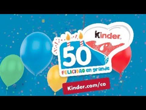 ¡Kinder® cumple 50 años!