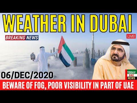 Dubai Weather news 🇦🇪 Uae Weather News 06/dec/2020