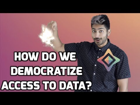 How do we Democratize Access to Data?