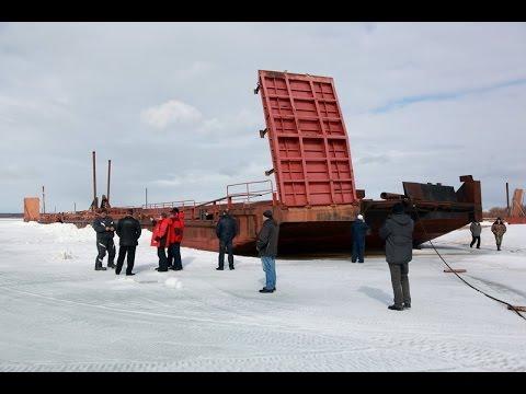 Работа комиссии по прохождению ледохода в Мезенском районе