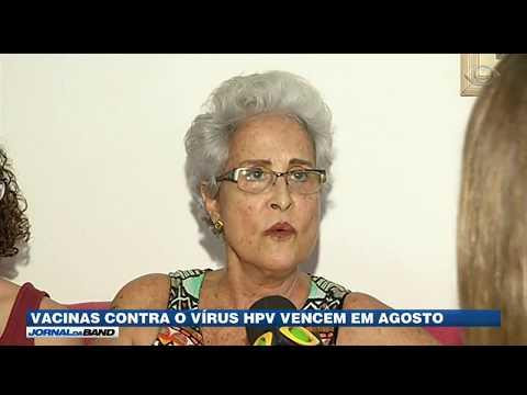 Vacinas contra o HPV vencem em agosto