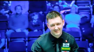 Kyren Wilson clears all colours with rest - Champion of Champions Snooker Semi Final