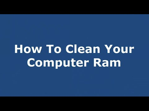 How to clean your Computer Ram (Bangla Tutorial)