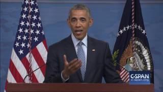 President Obama: We do not pay ransom for hostages. (C-SPAN)