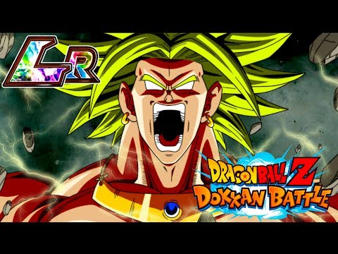 Dokkan Battle | LR BROLY RAMPAGE!! | 50 Stamina Cell Event
