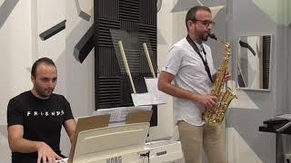 De Falla: La vida breve. David Hernando Vitores & Sandro' Bakhuashvili. Saxophone and piano.