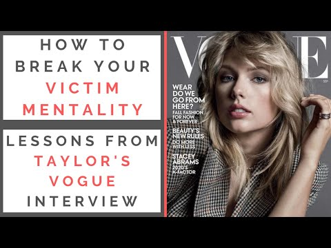 RED FLAGS FROM TAYLOR SWIFT'S VOGUE INTERVIEW: How To Overcome Victim Mentality | Shallon Lester