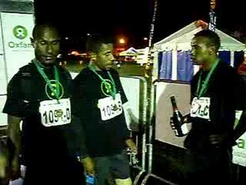 Oxfam Trailwalker - Team PNG post-race interview