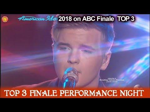 "Caleb Lee Hutchinson sings  Original Song ""Johnny Cash Heart""  American Idol 2018 Finale Top 3"