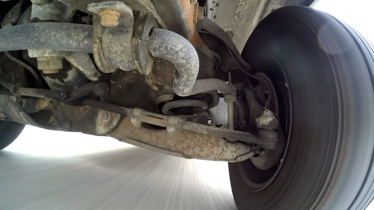 1998 Isuzu Hombre Front Suspension Youtube
