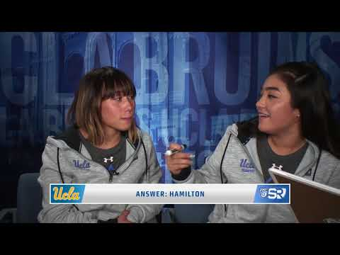 Teammate Challenge: UCLA Gymnasts Katelyn Ohashi and Felicia Hano