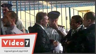 طاهر أبو زيد يساند الأهلى أمام بتروجت