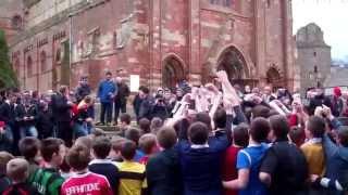 Kirkwall Boys Ba New Year 2015 (part 1 of 2)