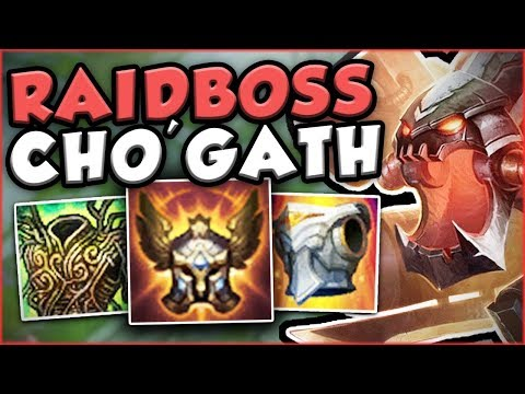 Download Youtube: DO YOU LIKE FREE ELO?? YOU NEED TO SEE THIS CHO'GATH BUILD! CHO'GATH TOP GAMEPLAY! League of Legends