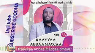 NEW Raayyaa Abbaa Maccaa VOL.33 FFAA A