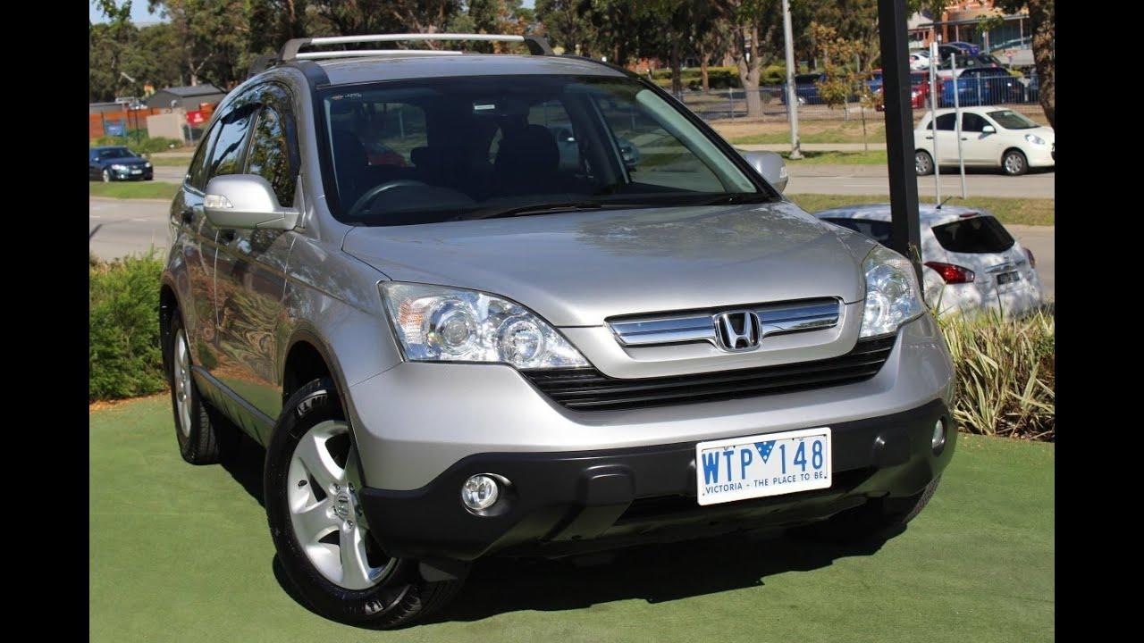 B5212   2008 Honda CR V Special Edition Auto 4WD Review