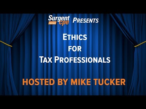 Ethics for Tax