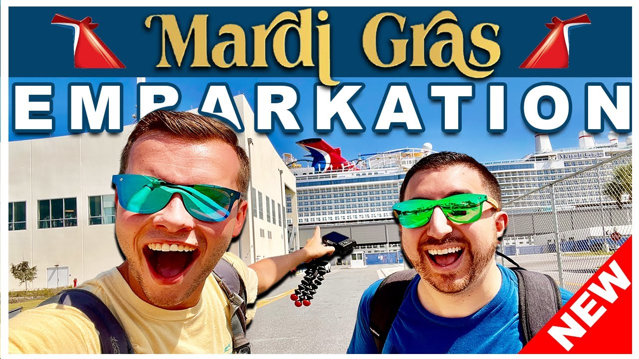 Download CARNIVAL MARDI GRAS 2021 BOARDING DAY CRUISE VLOG! | Part 1 Boarding the ship, Lunch, Exploring!