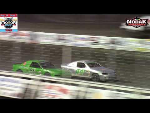 Nodak Speedway IMCA Sport Compact A-Main (Motor Magic Night #2) (9/2/18)