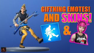 *NEW* GIFTING SKINS LIVE! + 1v1 CREATIVE! - Fortnite battle royale