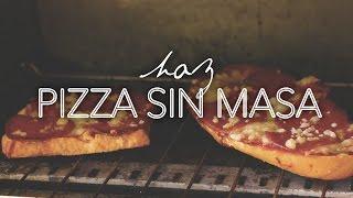 ¡¡HAZ PIZZA SIN LA MASA!! (Fácil y Rápido)