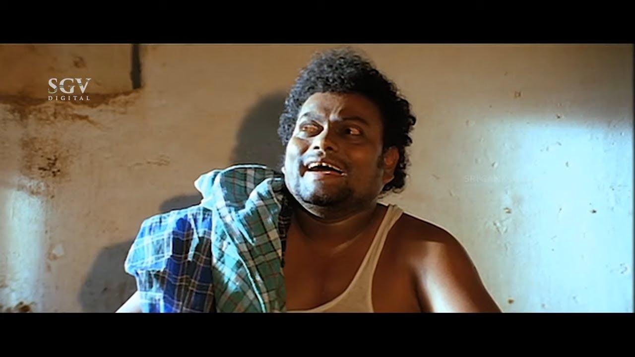 ಕುದಿಯೋ ನೀರಿನಿಂದ ಬ್ಯಾಕ್ ತೊಳೆದುಕೊಂಡು ಸಾಧು ಕೋಕಿಲ ಕಾಮಿಡಿ   Sadhu Kokila Jalaganda Comedy Scene-4