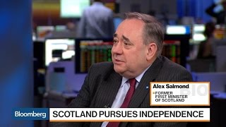 Salmond Says May Has Shown No Sensibility to Scotland