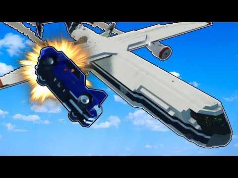 DELIVERING A CAR BY JET! - Stormworks: Build and Rescue Multiplayer Gameplay & Roleplay - Jet Update