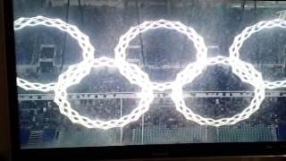 видео: Обман зрения! олимпийские кольца раскрылись не все