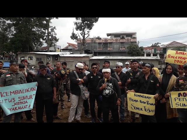 """""""Situs Sumur Tujuh Dirusak"""" Para Budayawan Kasundaan dan Elemen Masyarakat Murka"""