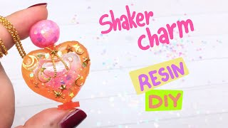 Resin Shaker charm- Sophie & Toffee July's Elves Box- DIY- Magical Girl