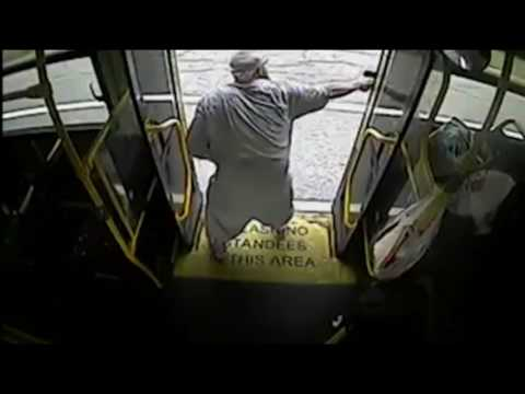 Deadly Baltimore police shootout on bus caught on camera