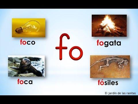 14 Sílabas Fa Fe Fi Fo Fu Syllables With F