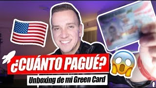 ??¿Cómo me hice Residente en Estados Unidos? ? UNBOXING MI GREEN CARD - Oscar Alejandro