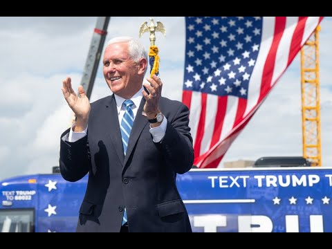 VP Mike Pence holds 'Make America Great Again!' event in Portsmouth, NH #MAGA
