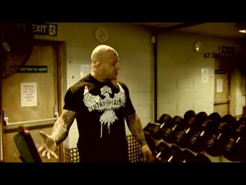 Jeff 'Snowman' Monson weight training programme for MMA