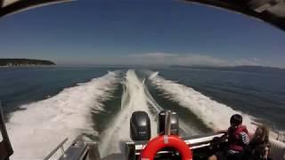 Flying Gray Whale, Hard Drive Marine's  Landing Craft for Stilliquamish Tribe