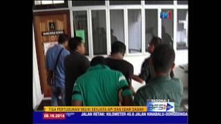 POLIS BANTUAN MILIKI SENJATA DAN DADAH DIHADAP KE MAHKAMAH  [8 Okt 2014]