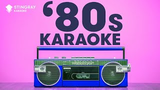 1 HOUR NON STOP BEST OF '80s MUSIC - FEMALE ARTISTS - KARAOKE WITH LYRICS