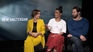 Ryan Eggold, Freema Agyeman & Janet Montgomery tease New Amsterdam season 2