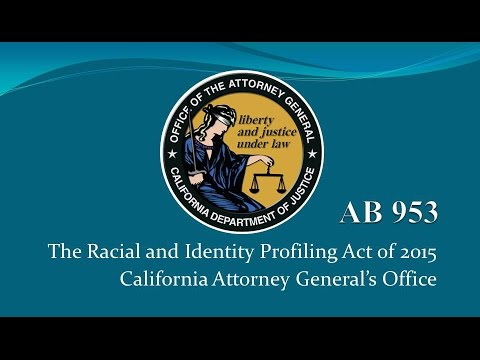 First Meeting of Racial and Identity Profiling Advisory Board