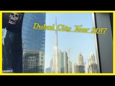 Exploring Dubai City 2017. Dubai Day and At Night. Dubai City Tour. Travel to Dubai Vlog 2017