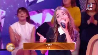 """Angélina chante """"Sacré Charlemagne"""" dans """"Les Enfants de la Musique"""" - 20/03/2020"""