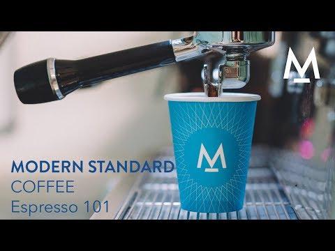 Modern Standard Coffee How To Make Espresso Youtube