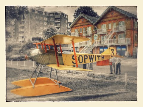 Sopwith Tabloid marking 100 years of aviation in Kingston