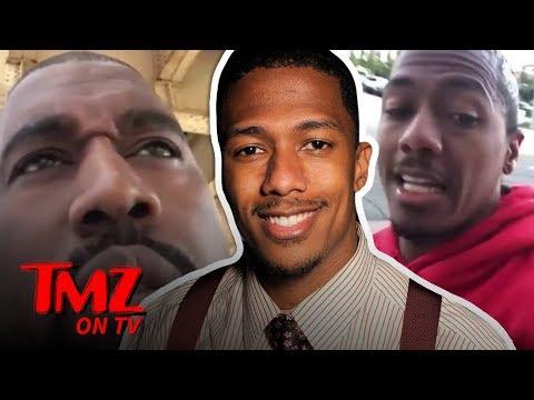Nick Cannon Fires Back At Kanye | TMZ TV