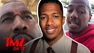 Nick Cannon Fires Back At Kanye | TMZ TV