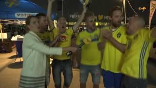 Fansen är peppade inför VM-kvalet mot Holland